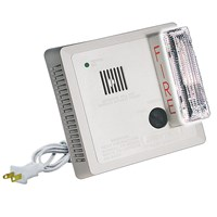 Photoelectric Smoke Alarm w-Visual Signaling Appliance