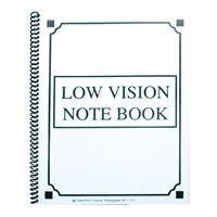 Low Vision Notebook - Thick Lines