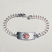 High Blood Pressure Silver Bracelet