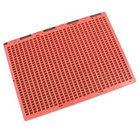 Braille Slate- Full Page- Red and Black