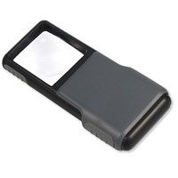 Carson MiniBrite LED Lighted Pocket Magnifier PO-55- 5x