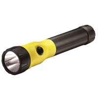 Streamlight PolyStinger LED Flashlight + 120V AC-DC+2-Holders - Yellow