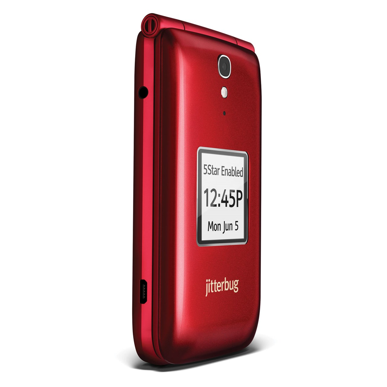 pretty nice fff97 f1a57 Jitterbug Flip Cell Phone - Red
