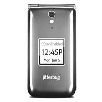 Jitterbug Flip Cell Phone - Graphite Gray