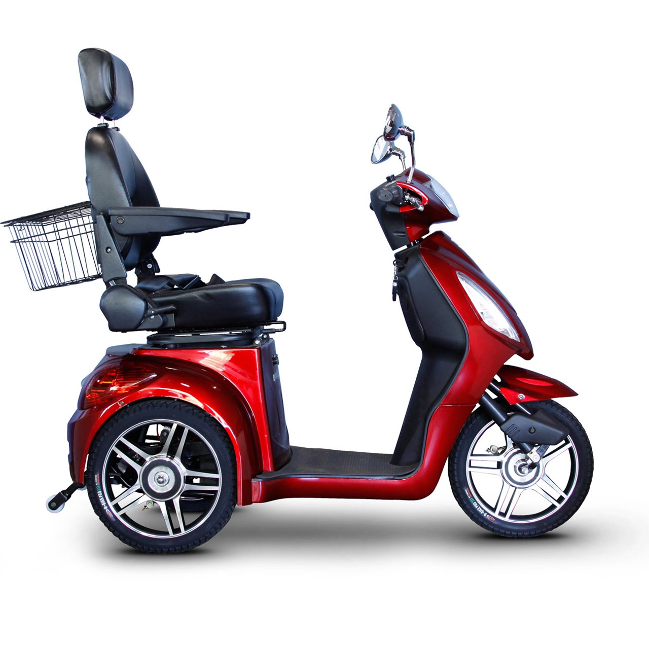 Maxiaids e wheels ew 36 3 wheel electric senior mobility for Motorized mobility scooter for adults