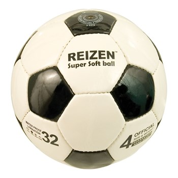 Reizen Leatherette Soccer Ball with Rattle - Size 4