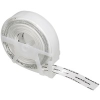 Reizen Transparent Vinyl Labeling Tape - 9 rolls plus 1 free