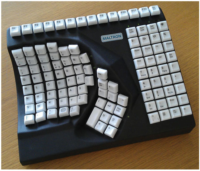 Maxiaids Maltron Keyboards Left Handed