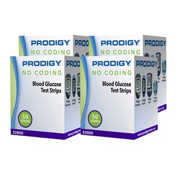 Test Strips for Prodigy Blood Glucose Monitors - 200 Strips