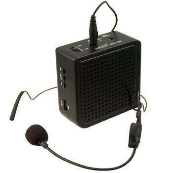 VoiceBooster MR2200 16 Watt Voice Amplifier and MP3 Player