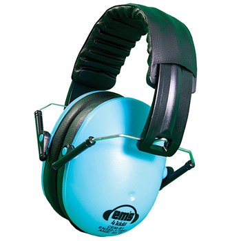 Ems 4 Kids Folding Hearing Protection Earmuffs- Blue