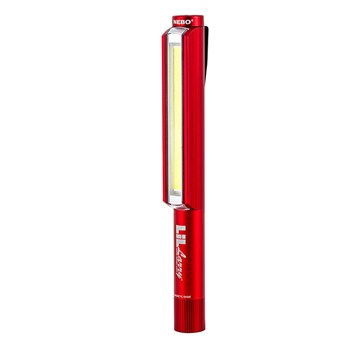 Little Larry 250 Lumen COB LED Power Work Flash Light - Red
