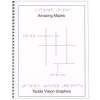 Braille Childrens Book Amazing Mazes