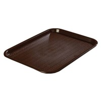 Cafeteria Tray- Chocolate Brown- 10-in x 14-in