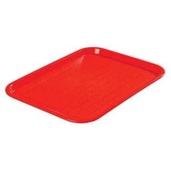 Cafeteria Tray - Red - 14-in x 18-in