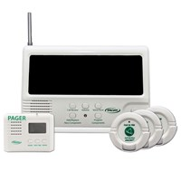 Central Monitor-3 Call Buttons-Pager-Adapter Kit