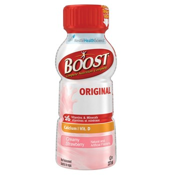 BOOST Nutritional Energy Drink- Strawberry-Case-24