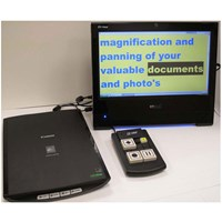 Ultima Electronic Magnifier and Reading Machine - DEMO