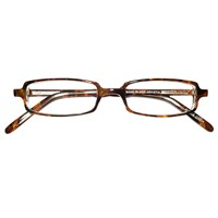 Prismatic Spectacles 6D with 8 Base in Prism 44mm Frame Tortoise