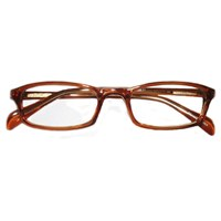 Prismatic Spectacles 8D with 10 Base in Prism 48mm Frame Brown