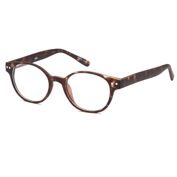 Lenticular Spectacles 8D OU 44mm Fulvue Frame Tortoise
