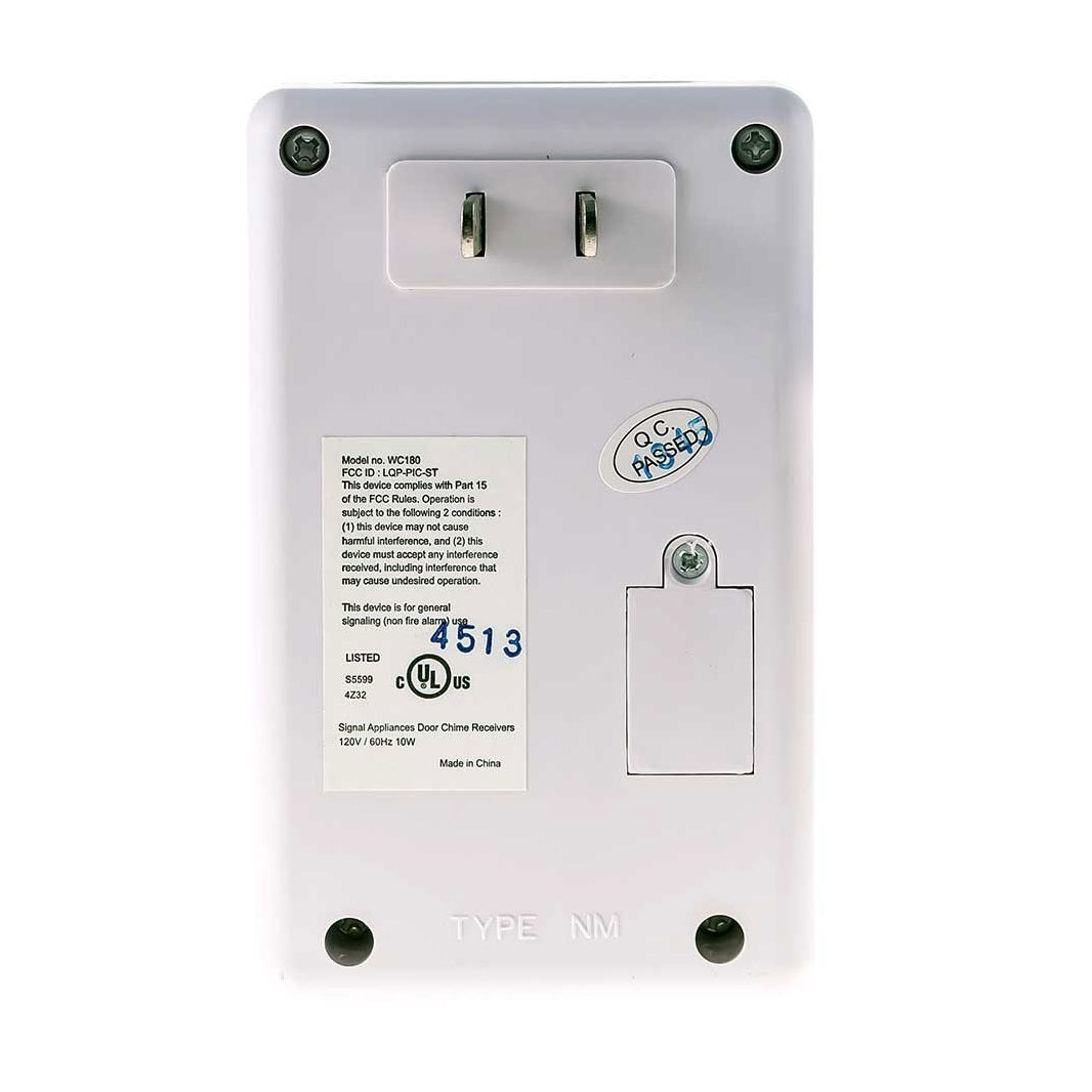 Maxiaids Wireless Door Chime With Flashing Strobe Light Wiring Doorbell Loud And