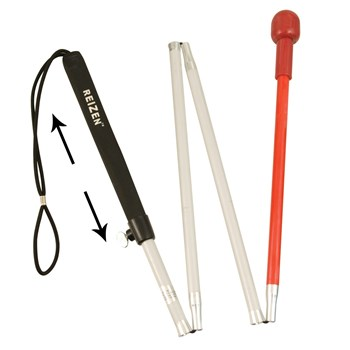 Aluminum Adjustable Cane for the Blind