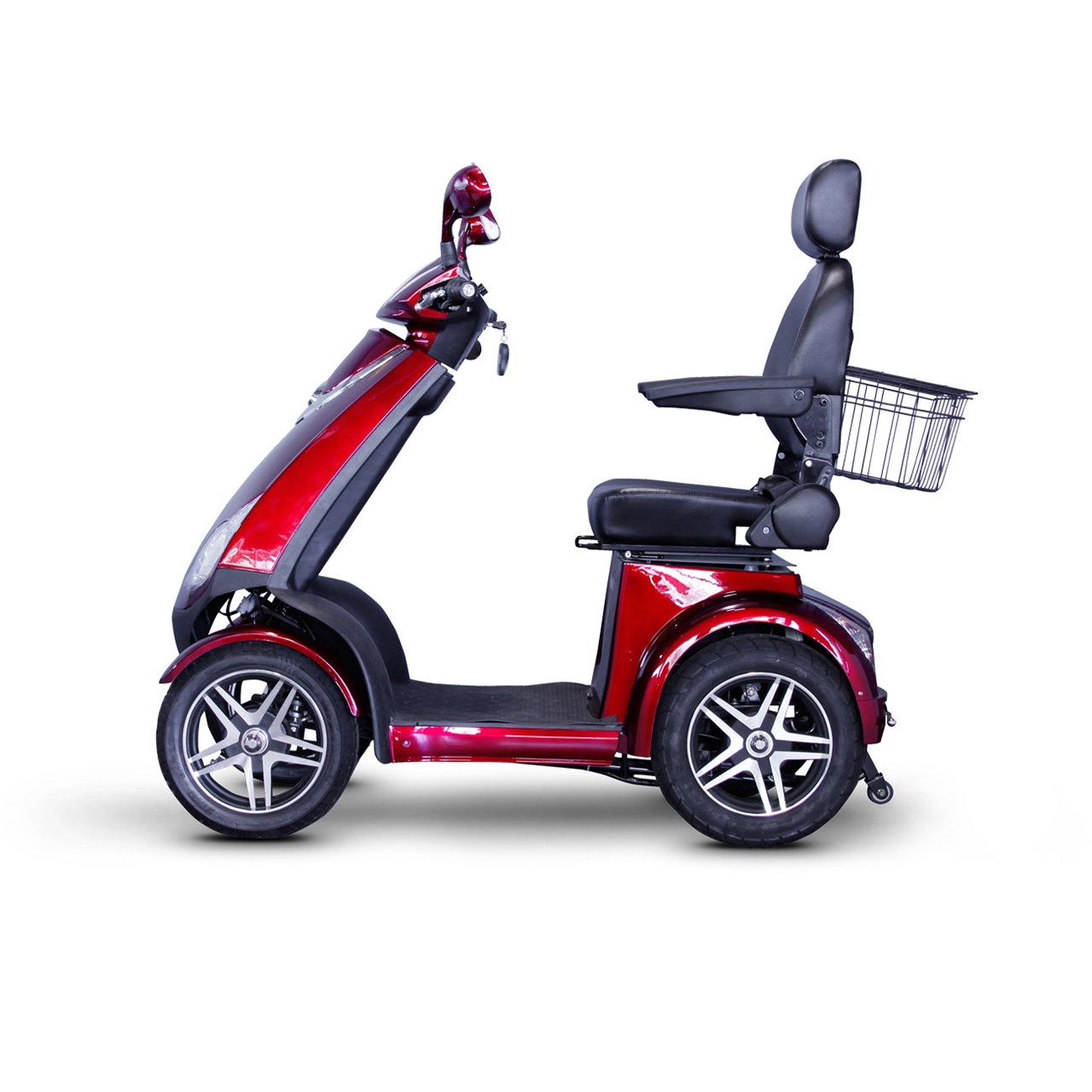E Wheels Ew 72 4 Wheel Electric Senior Mobility Scooter Red