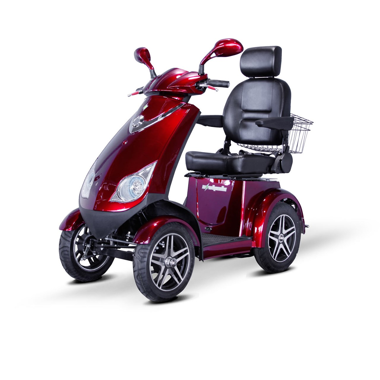Maxiaids e wheels ew 72 4 wheel electric senior mobility for Motorized scooters for the elderly