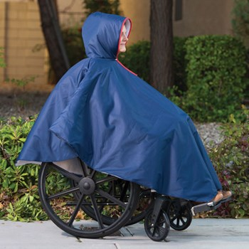 Wheelchair Poncho-Unisex-Adult