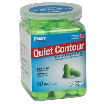 Flents Quiet Contour Comfort Foam Ear Plugs - 50 Pair