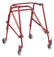 Drive Nimbo Posterior Walker - Large - Red