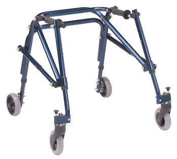 Drive Nimbo Posterior Walker - Small - Blue