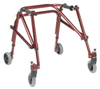Drive Nimbo Posterior Walker - Medium - Red