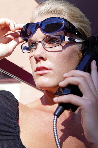 2cf2885a32733 Aurora Sapphire Fit Over Sunglasses - Polarvue Gray