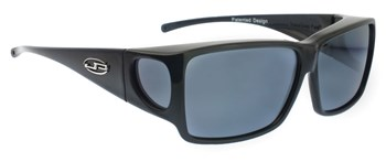 Orion Midnite Oil Fit Over Sunglasses - Polarvue Gray