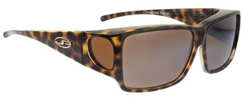 Orion Cheetah Fit Over Sunglasses - Polarvue Amber