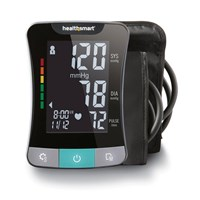 HealthSmart Talking Upper Arm Blood Pressure Monitor- English+Spanish