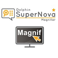 SuperNova Screen Magnifier - CD and USB Flash Drive