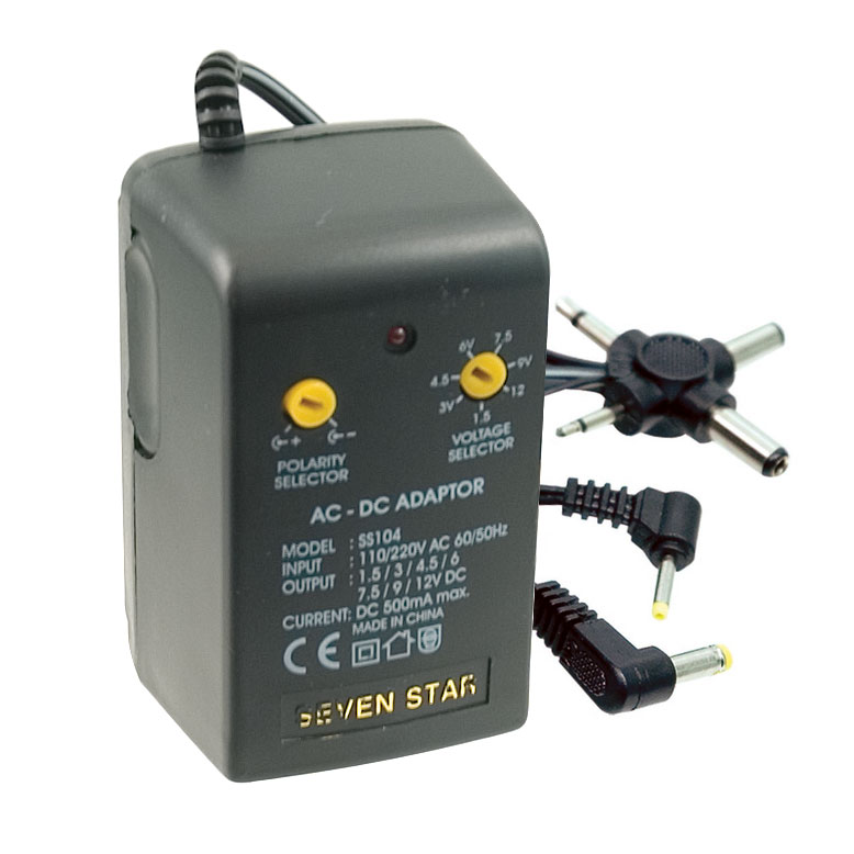 Maxiaids Battery Eliminator Universal Ac Dc Adapter