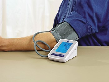 Talking Blood Pressure Monitor- Large Adult Cuff- English + Spanish