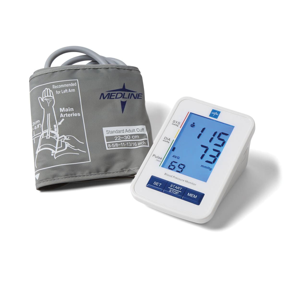 Maxiaids Talking Blood Pressure Monitor With Large Adult