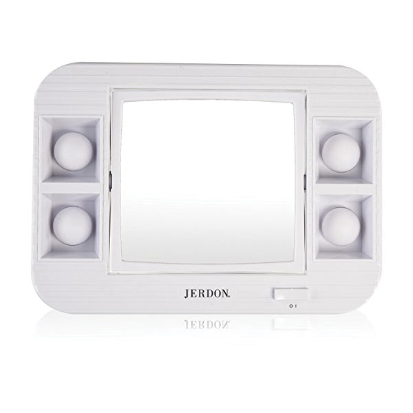 Maxiaids Led Lighted Makeup Mirror With 5x Magnification