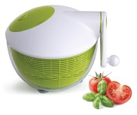 Starfrit 5-Quart Salad Spinner - Green-White
