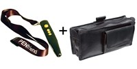 PenFriend 2 Voice Labeling System + Leather Case - MaxiAids Bundle