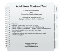 Near Contrast Test - For Adults