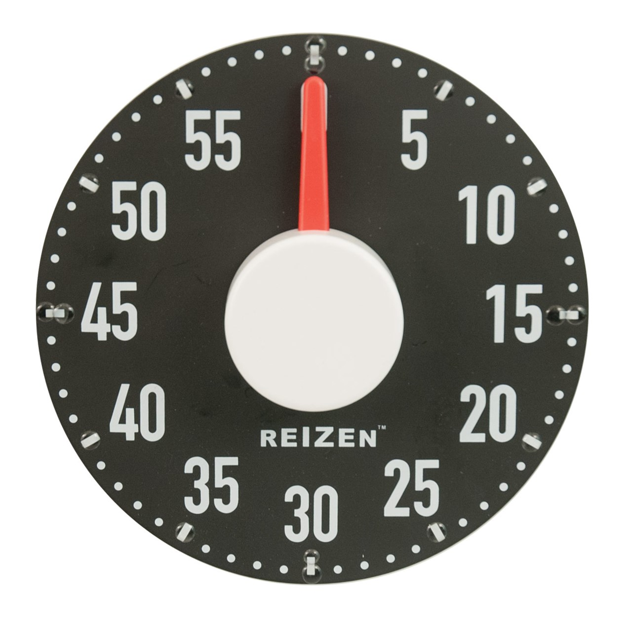 Maxiaids Extra Large Tactile Magnetic Kitchen Timer Black With White Dial