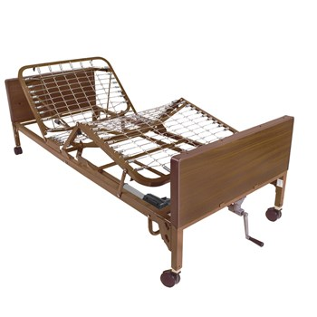Semi Electric bed with Full Length Side Rails