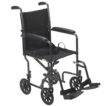 Drive Lightweight Transport Chair- 17-in. Seat