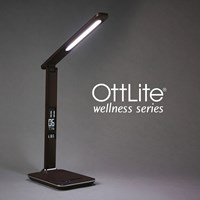 Ott-Lite Renew LED Desk Lamp - Brown